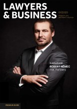 LAWYERS&BUSINESS / Magazine cover page